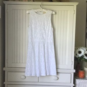 Beautiful White Lace Michael Kors Dress